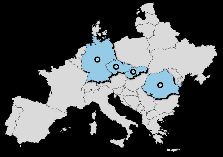 InterCora v evropě